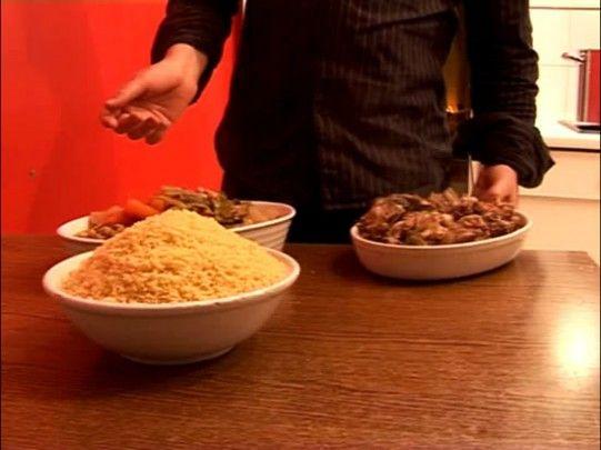 recette de couscous à l'agneau en vidéo