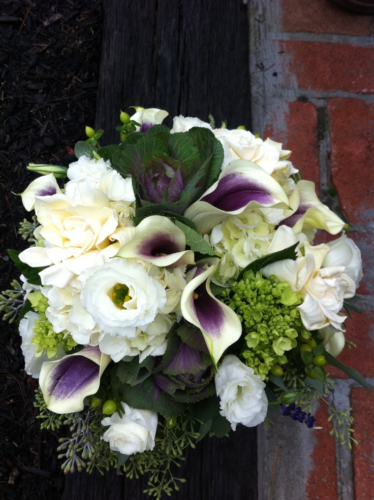 Bridal Bouquet. Love the colors together and textures--Mine!!