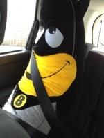 Twitpic : Nicolas Batum vous présente son nouvel ami Batnanaman…