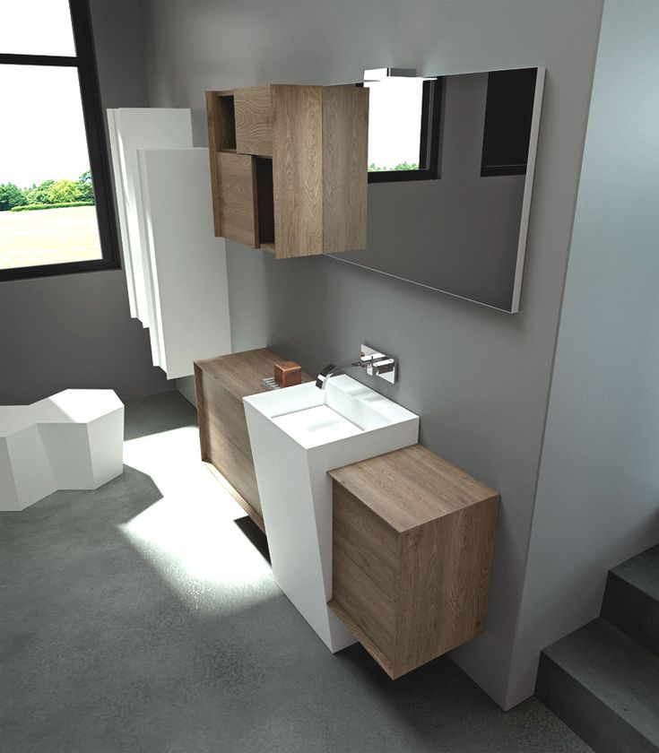 #bathroom #arredobagno #puntotre #moduladue #design #modernstyle
