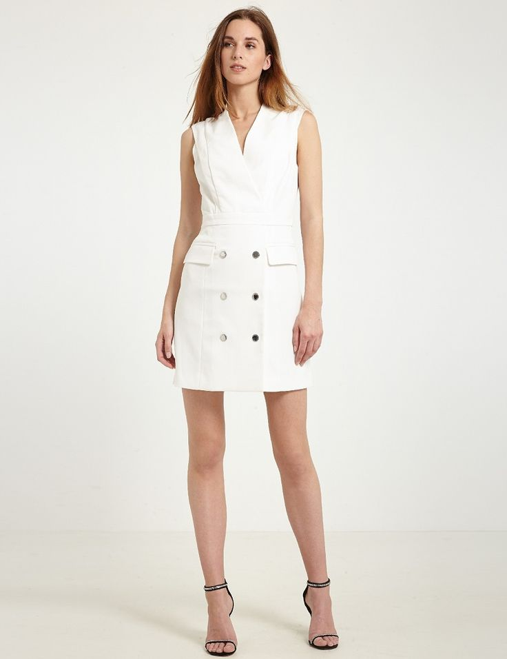 Robe blanche morgan de toi