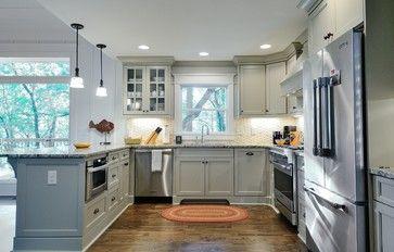 Shaker kitchen - traditional - Kitchen - Atlanta - Renew Properties...soft gray
