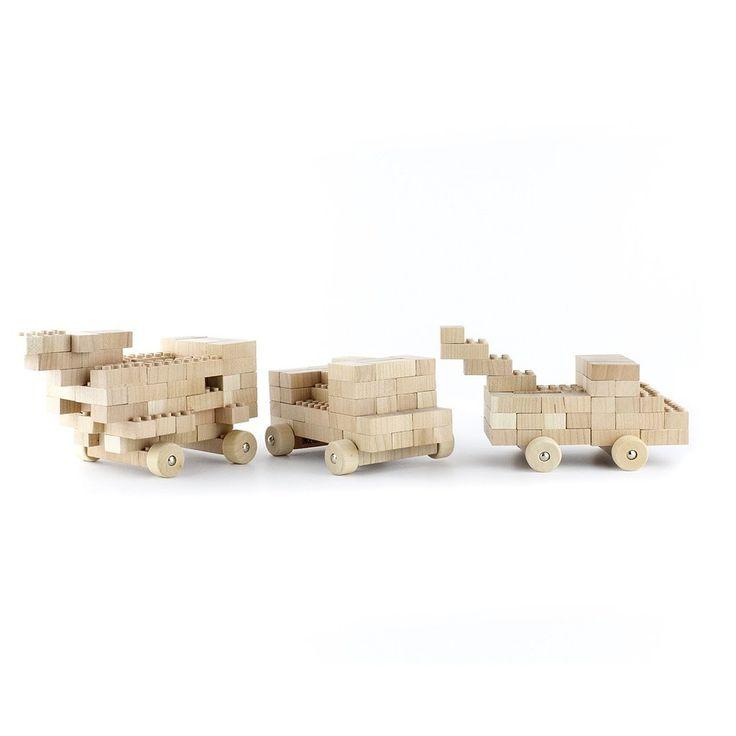 PRODUCTS :: KIDS :: TOYS :: Wooden toys :: Eco-bricks 24pcs