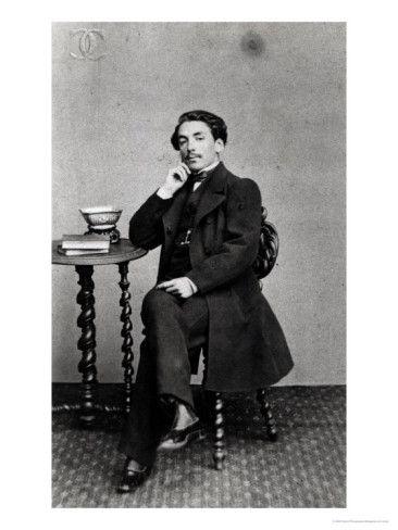 Stéphane Mallarmé  aos 19 anos (1842–98)