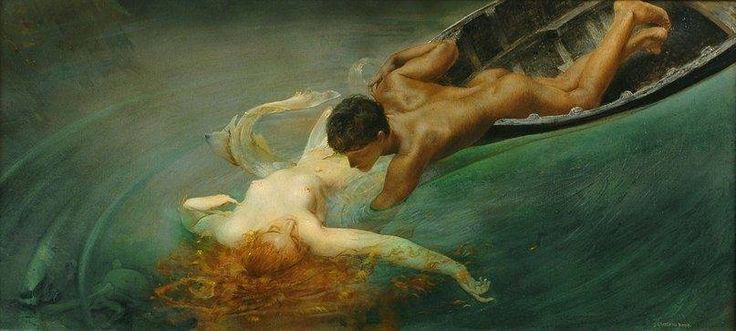 """La Sirena"" by Giulio Aristide Sartorio"
