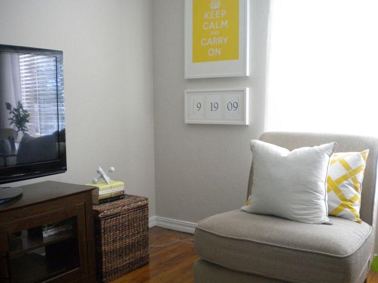 Frames On Wall Living Room Modern