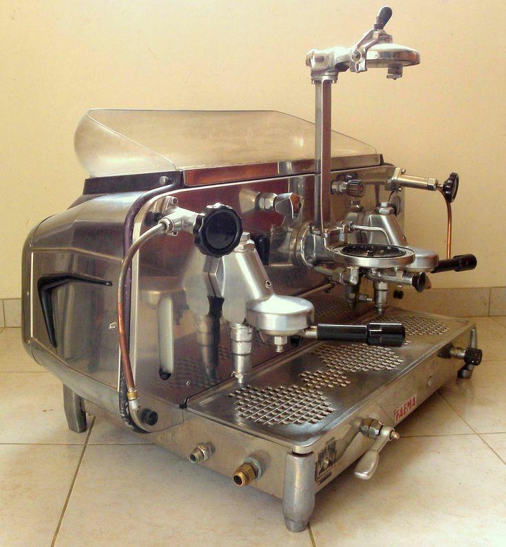 XX° 1960's - VINTAGE FAEMA E 61, percolateur, machine à café, expresso,
