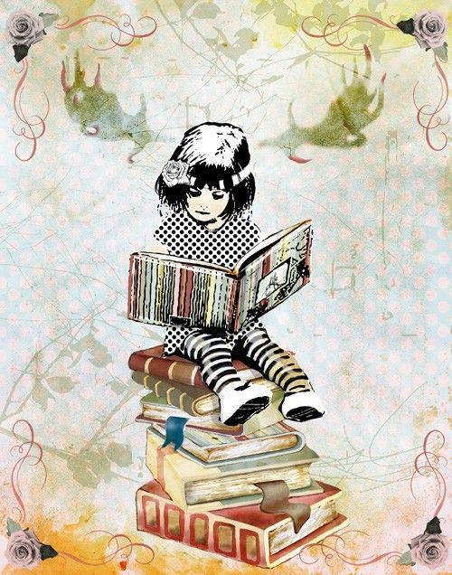 Love books reading a good book has no ending