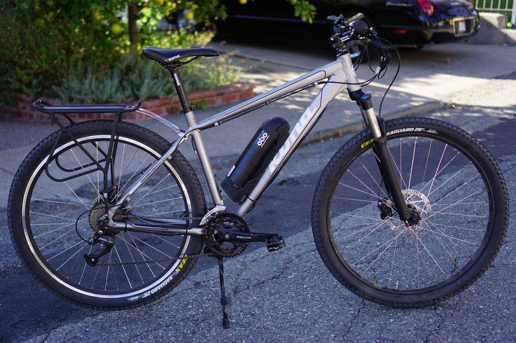 Ebo Phantom Electric Bike Kit Installed On A Kona Mahuna