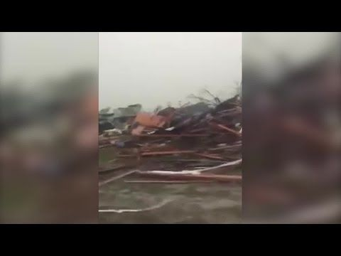 01/22/2017 - RAW VIDEO: Tornado damage in Adel, Ga. at Sunshine Acres Mobile Home Park (CNN) - YouTube