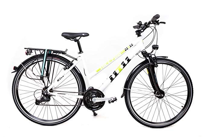 28 Zoll Alu Fahrrad Trekking Damen Rad Shimano Deore 24 Gang