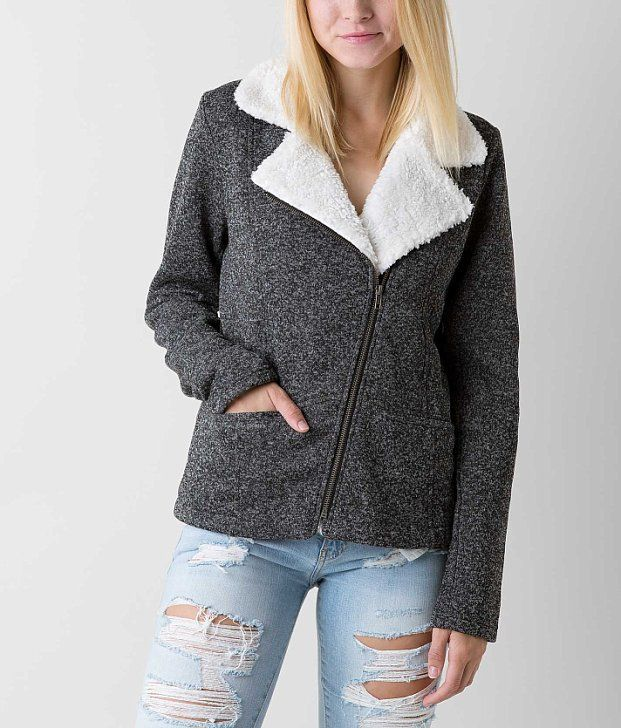 4ee617a8e2 Ashley Marled Coat - Women s Coats Jackets in Black Cream