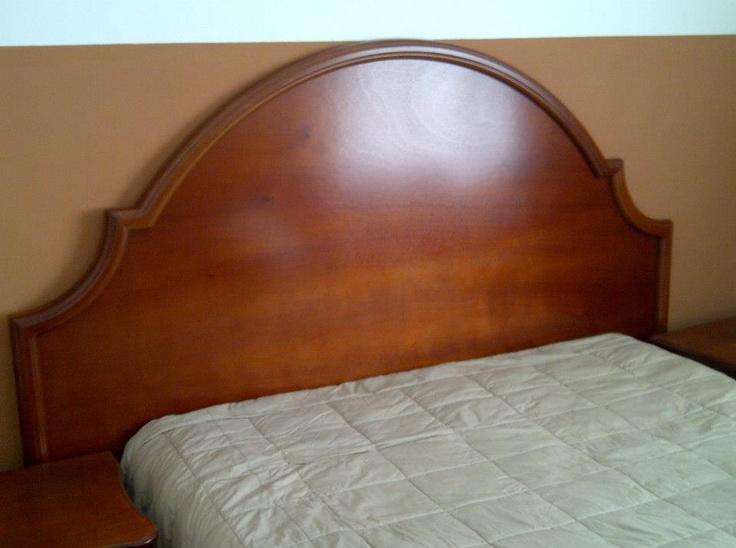 Precio q2 750 semi nuevo cabecera para cama queen o king - Cabeceras de cama de madera ...