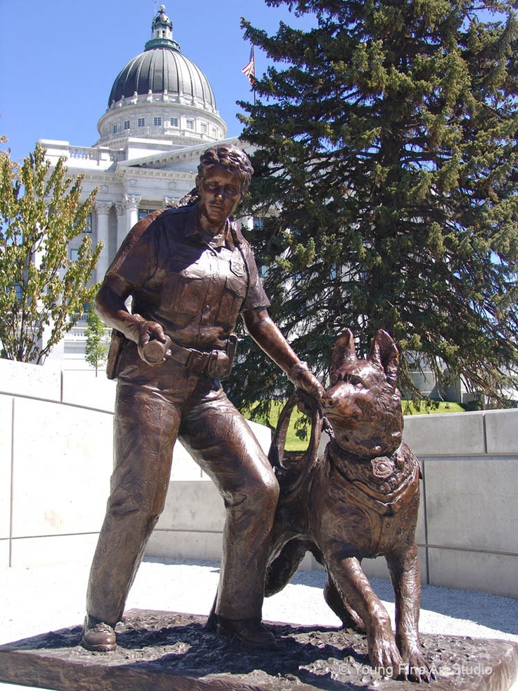 Sculptor Lena Toritch creates Custom Bronze Firefighter/Fireman & Large  Police Memorial Statues,Custom Bronze Monuments that honor our heroes.