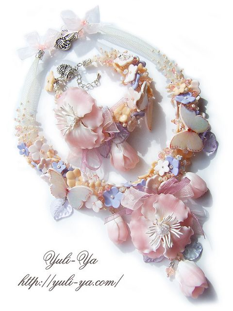 What a lovely piece by Yuli-Ya!!!!  So dainty and beautiful!