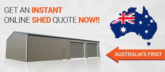 Get an Instant Online Shed Quote Now!!