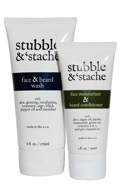 Beard Conditioner | Face Moisturizer | stubble and 'stache - stubble & 'stache