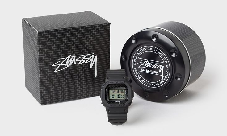 Stussy & G-SHOCK Celebrate the History of the DW-5600