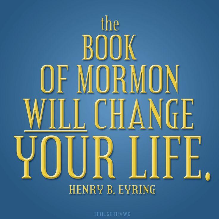 """""""Le Livre de Mormon changera votre vie"""" - Henry B. Eyring - Le Livre de Mormon Changera Votre Vie - Février 2004"""