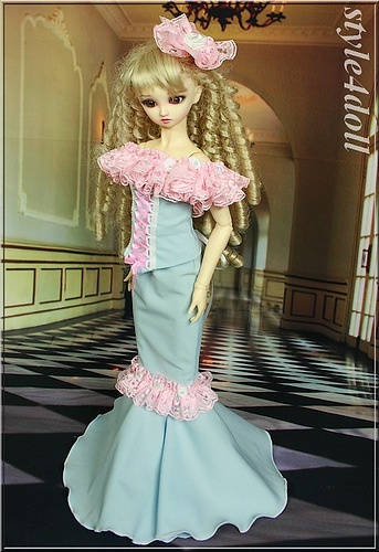 Fashion for 1/3 BJD VOLKS SD10/SD13 style4doll
