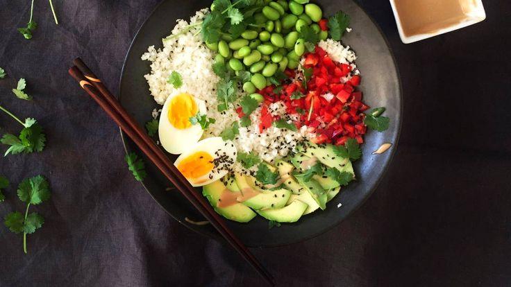 Terveellistä ja maistuvaa – monipuolinen ruoka sopii vaikka kevyeksi lounaaksi tai iltapalaksi.