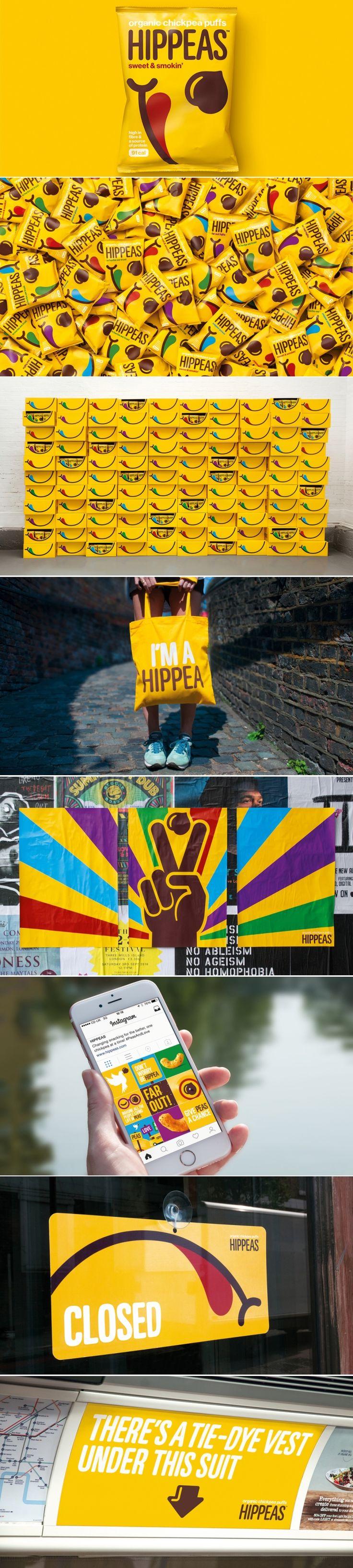 HIPPEAS — The Dieline - Branding & Packaging Design