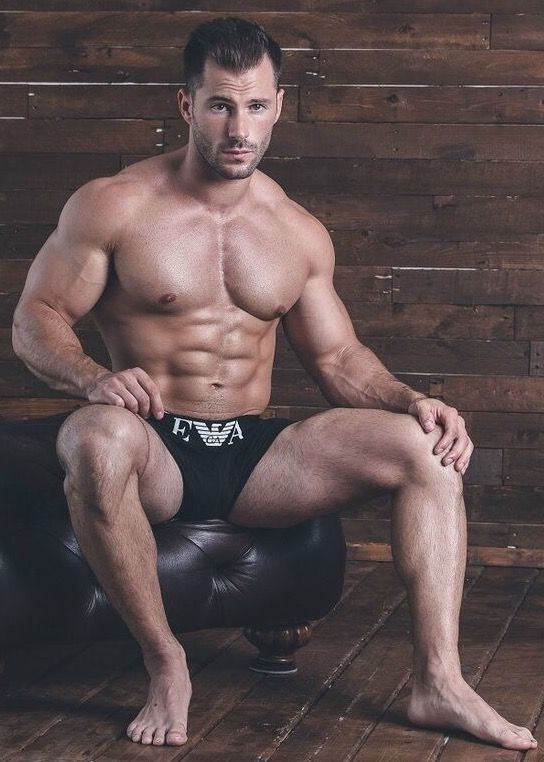 Male Model, Good Looking, Beautiful Men, Handsome, Hot, Sexy, Eye Candy, Beard, Muscle, Hunk, Abs, Six Pack, Shirtless, Underwear 男性モデル アンダーウェア 下着