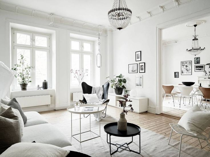 White and bright home