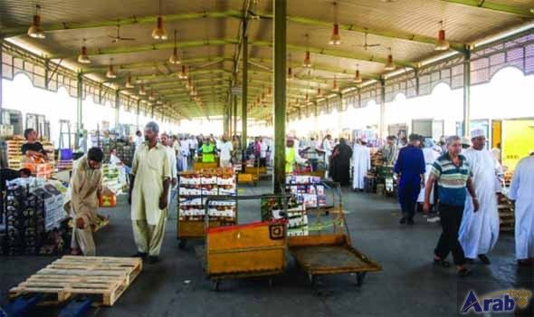 Parking curbs at Oman market for Eid