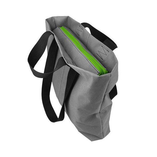 SHOPPER BAG 01 zielony zamek w Torebki Filcowe Purol Design na DaWanda.com