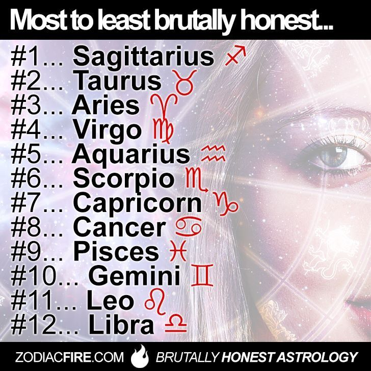 Switch scorpio and taurus and this would actually be accurate