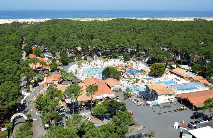 Camping Frankrijk Landes - CAMPING LE VIEUX PORT ***** - Atlantische kust Boven budget