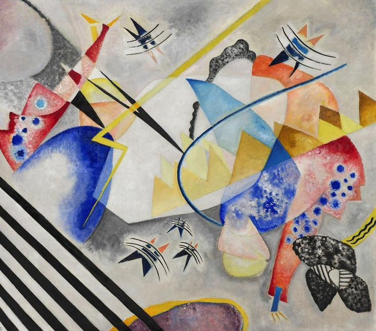 Wassily Kandinsky - White Center, 1921