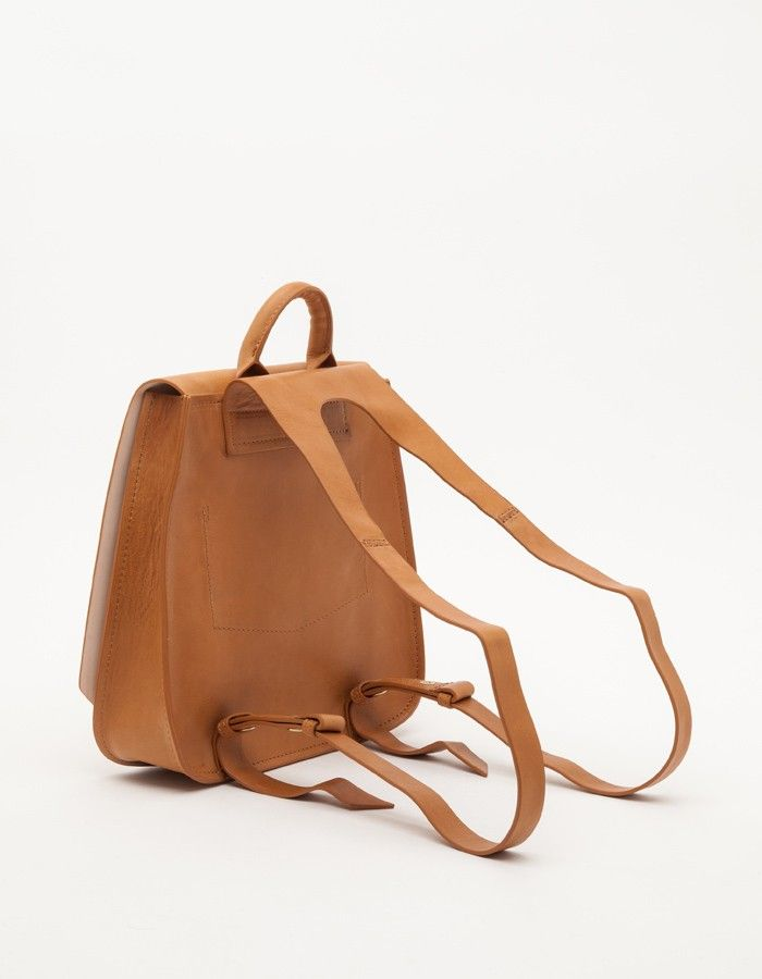 Clemence Backpack in Tan