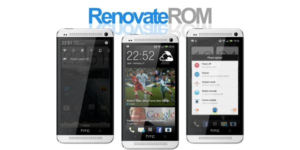 How to Install Renovate Android 4.1.2 on HTC One Jelly Bean Custom ROM