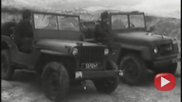 Vojenská babeta, která nakonec nešla do světa - FANDA - Škoda 973 (Made in Czechoslovakia, 1952-1956)
