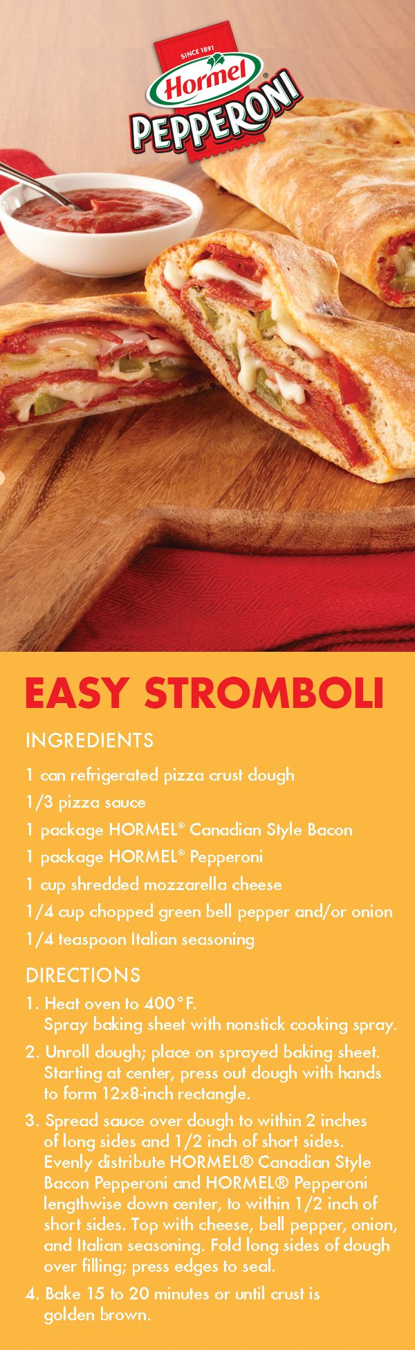 Make this Easy Stromboli and you're 2 words closer to speaking fluent Italian | Easy Meal | Kid friendly | Family meal