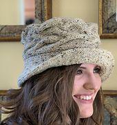 Ravelry: Jean's Irish Hat pattern by Valarie Keaton $5 aran