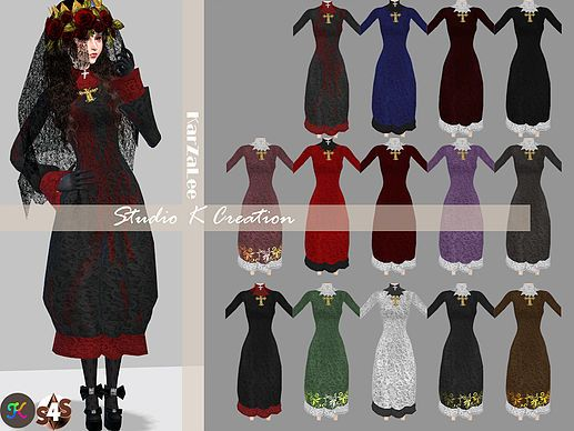 DarkSouls nuns outfit at Studio K Creation