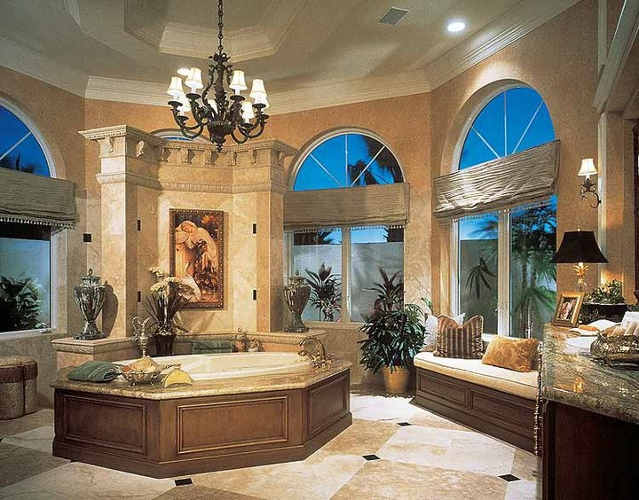 Luxury bathroom124 best Luxurious Traditional Bathrooms images on Pinterest  . Luxurious Baths. Home Design Ideas
