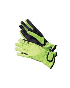 Softshell riding glove in Yellow