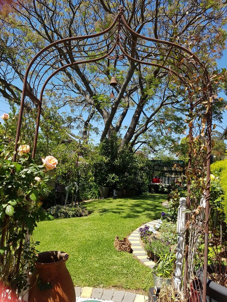 Archway into my garden