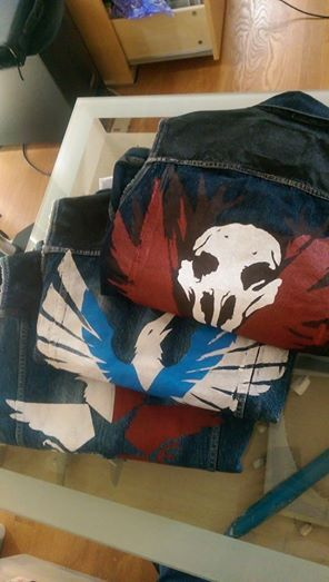 Infamous Second Son Jackets I need these so when I have a karmic moment it will show