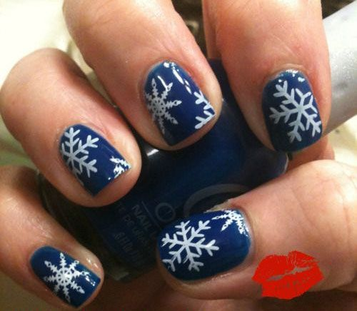 52 best winter snowflake nail art images on pinterest snowflakes check out these winter snowflakes nail art designs ideas of prinsesfo Images
