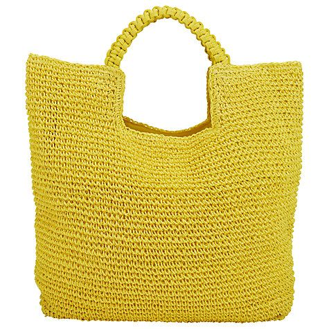 Buy Collection WEEKEND by John Lewis Straw Shopper Bag Online at johnlewis.com