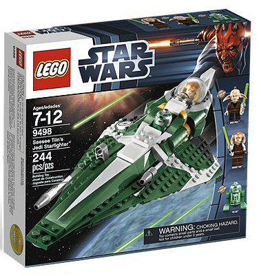 Lego 9498 Star Wars –  Saesee Tiins Jedi Starfighter - happy-e-shopping