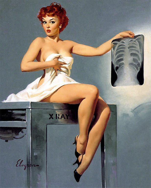 Gil Elvgren Vintage Pin Up Girl Illustration | Pin-Up Girls | Sugary.Sweet | #PinUp #Art #Vintage #Illustration