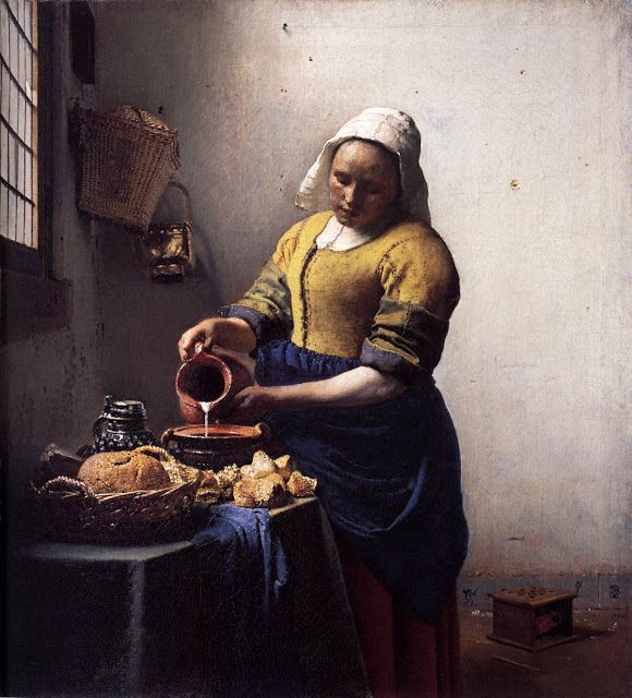 Η χωριατοπούλα του Γιοχάνες Βερμέερ - 1658