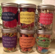 glass jar crafts for him - Google Search