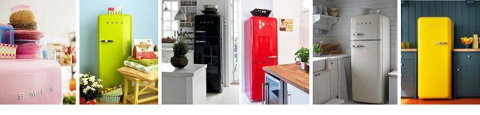 #Smeg Fridge Freezer, Retro Fridge and Retro Fridge Freezer